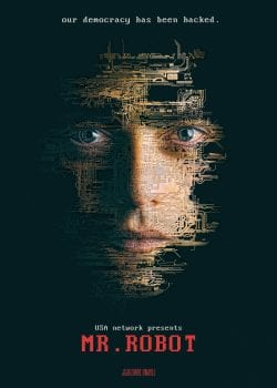 Mr. Robot Key Art Movie Poster – USA Network