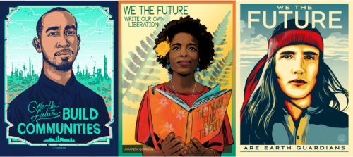 Illustrated Political Posters by Shepard Fairey of Obey and We the Future | Small Grid