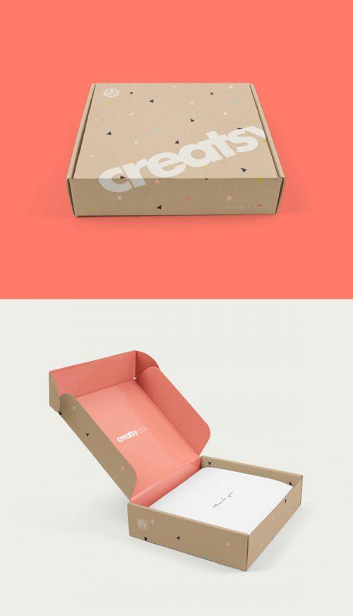 Asset | Mailing Box PSD MockUp