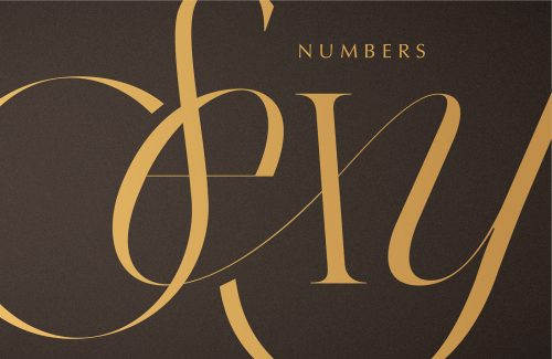 Typography : Caligraphy : Type Design – Kissmiklos – Sexy Numbers 036