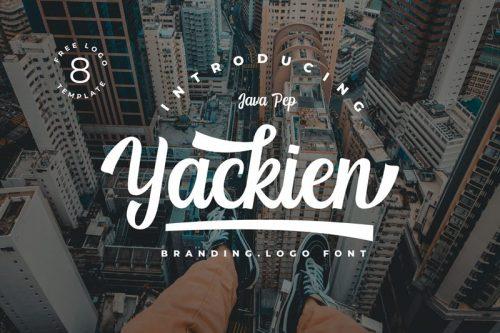 Asset | Yackien Font Typeface
