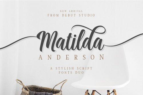 Asset | Matilda Font Typeface