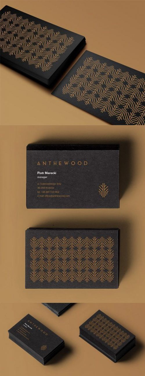 Anthewood Business Card