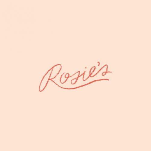 Rosie's pretty script lettering