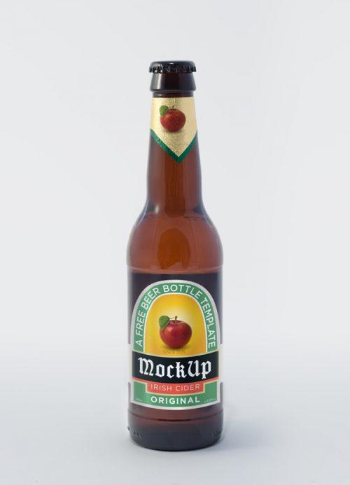Asset | Beer Bottle PSD MockUp