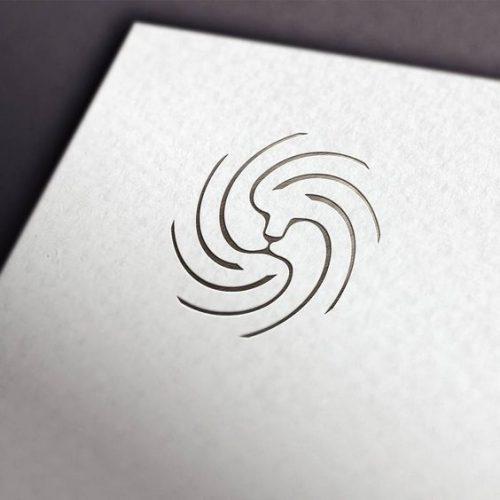 Oen Hammonds Minimal Lion Logo