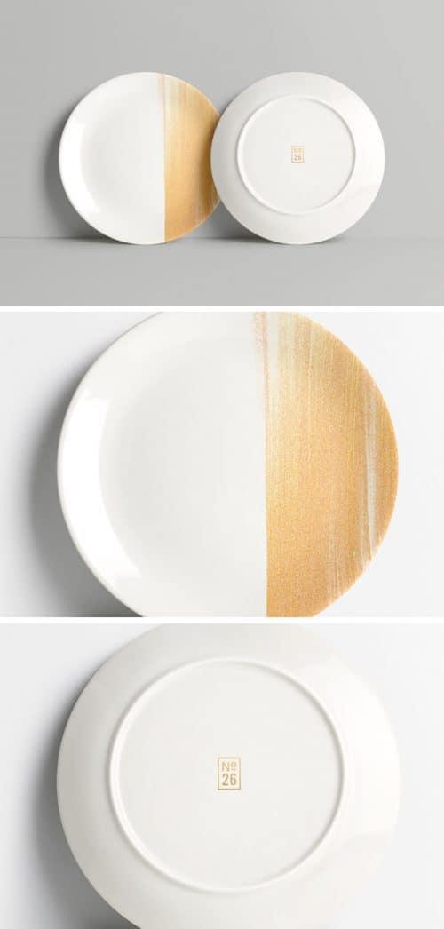Asset | Plate MockUp PSD