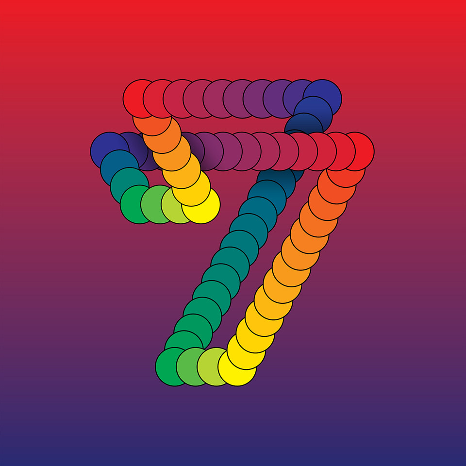 Matt W. Moore – Alphafont 2018 – Alphabet Font – Typography 008