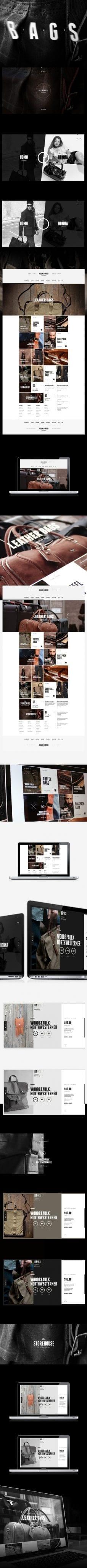 BELLINI BORELLI Website Design