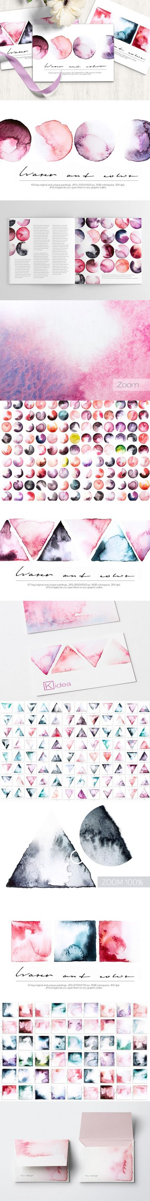 Water Color Design and Branding