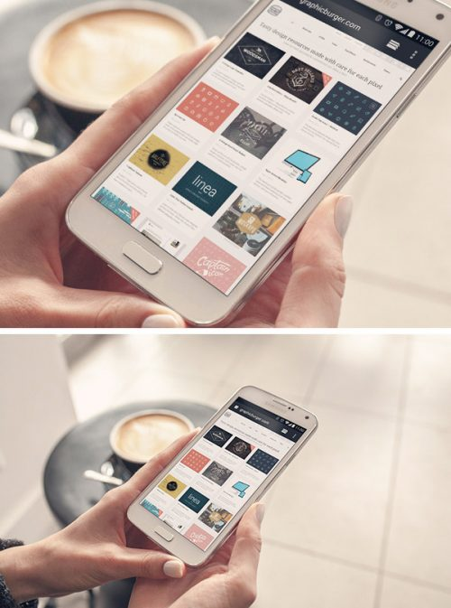 Asset | Android Phone PSD MockUp