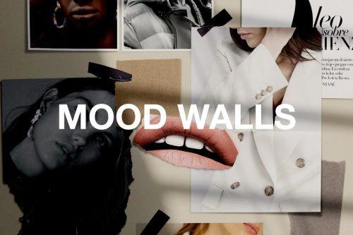 Realistic Mood Wall Mockups ~ Mockup Templates ~ Creative Market