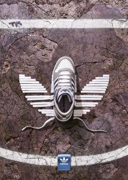 Adidas Ground – Creative Product Advertising