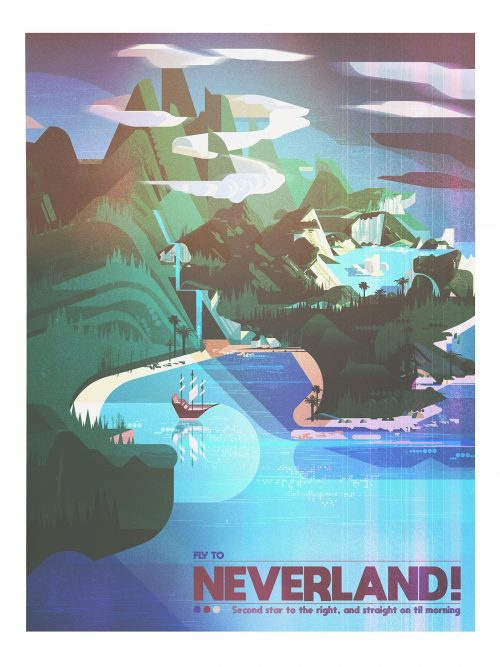 Dream Destinations Illustrated Prints for Gallery Nucleus – James Gilleard 03