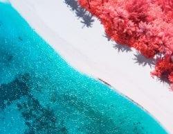 Paolo Pettigiani – The Maldives Infraland – Beautiful Infrared Island Photography 03