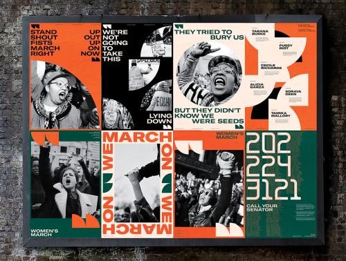 WOMEN'S MARCH | Poster Design