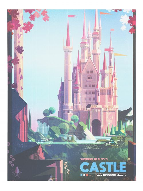 Dream Destinations Illustrated Prints for Gallery Nucleus – James Gilleard 02