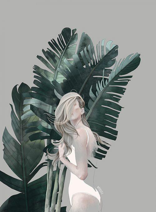 Foliage Theme Illustration