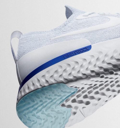 Textures | Nike Flynit shoe pattern