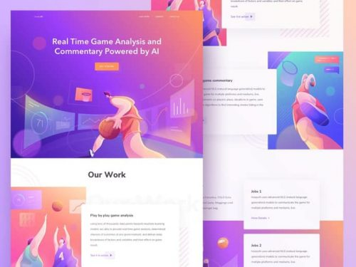Beautiful UI/UX Illustration