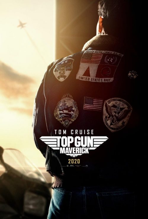 Top Gun: Maverick – Movie Poster Key Art (with fighter jets)