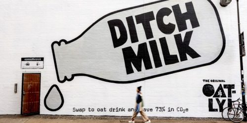 Oatly Oat Milk – Ditch Milk campaign