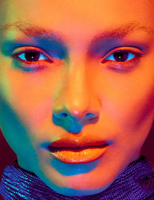 Lais Ribeiro for Numero Magazine Cover Russia – Photography with Gel Lights 08