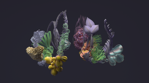London Symphony Orchestra Roots and Origins – 3D Flowers – Alexa Sirbu of Superunion 22