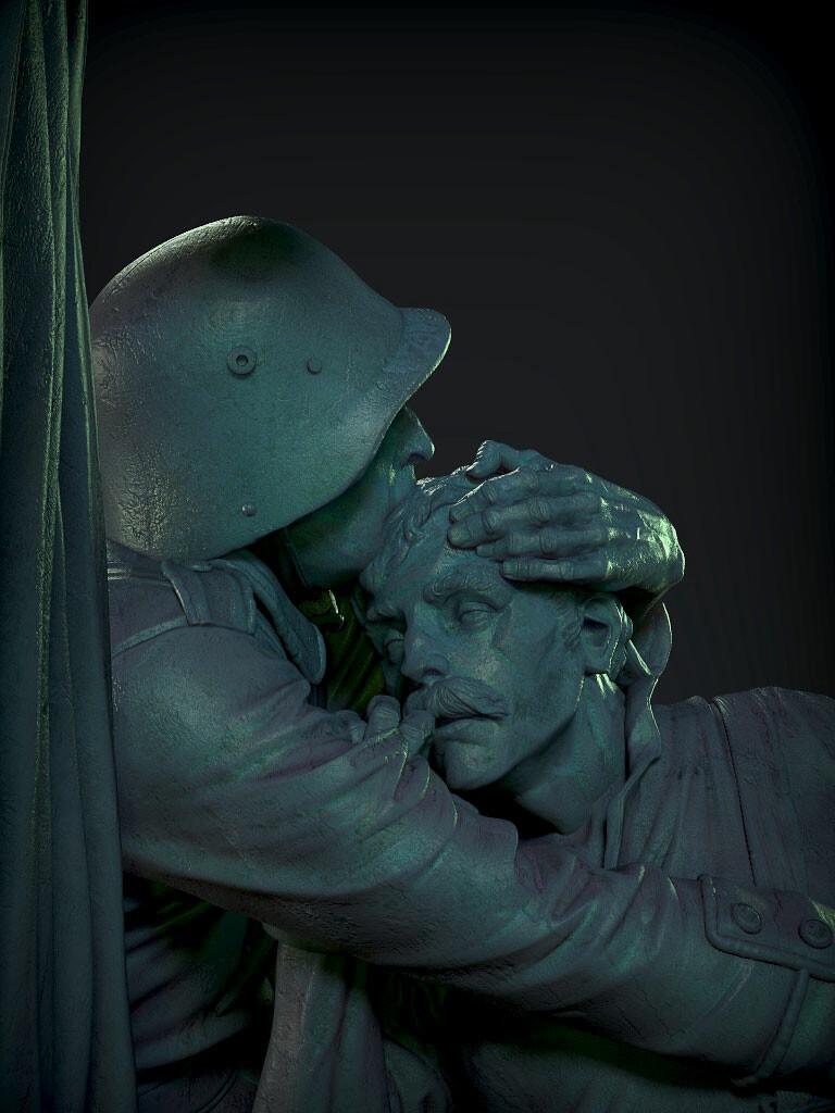 Monument to Passchendaele, James W Cain