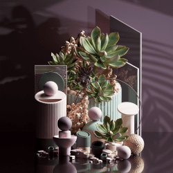Peter Tarka _ Abstract Compositions and Renders made with