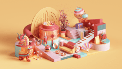 Peter Tarka – Apple Chinese New Year 3D Modeling and Renders 04