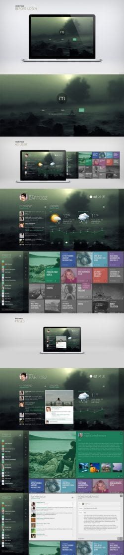 Before and After Web Design UI UX