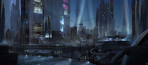 Future Visions – Digital Illustrations on Photoshop 14