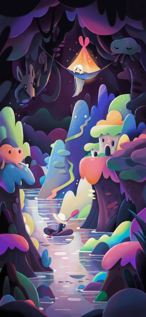 Alexander Zutto – Whimsical Illustrations made on Procreate 01