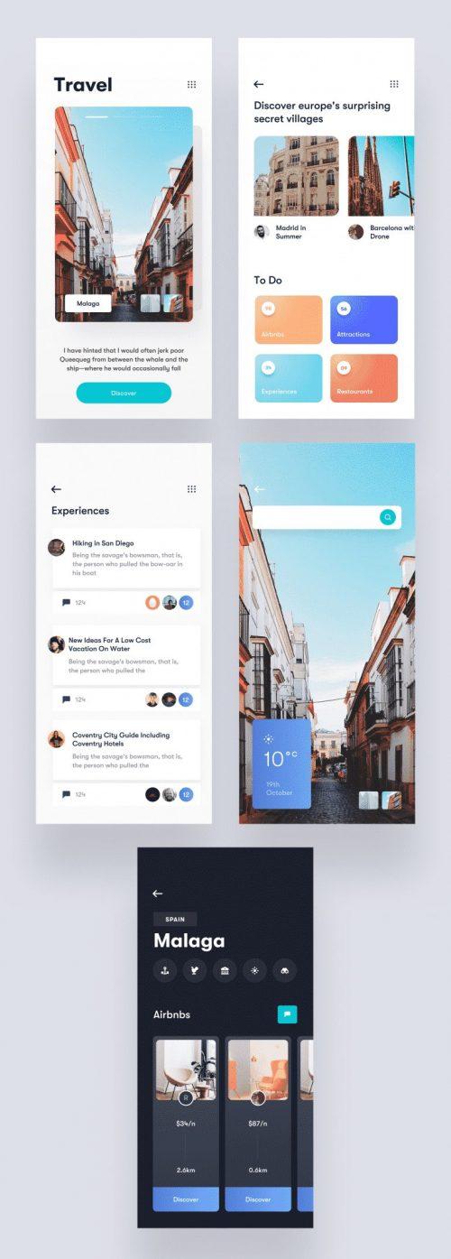 Travel App – UI/UX Design