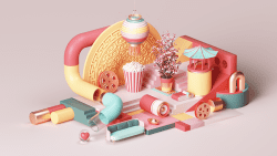 Peter Tarka – Apple Chinese New Year 3D Modeling and Renders 10