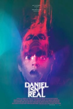 Daniel Isn't Real Movie Poster Key Art