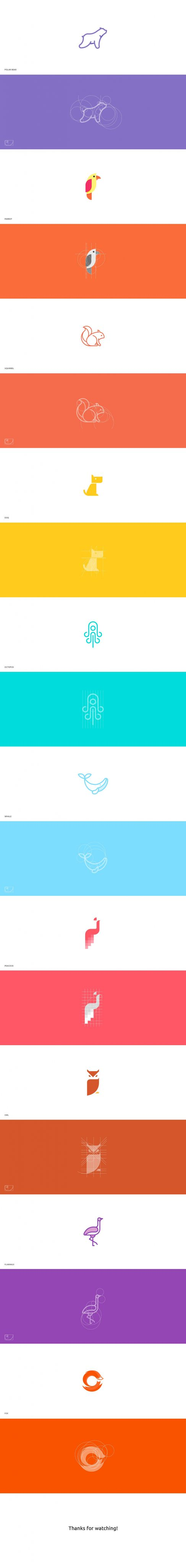 Animal Marks Logo Collection Illustrated by Ignas Sen
