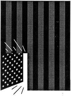 Exit America – Minimal Black and White Propaganda Design