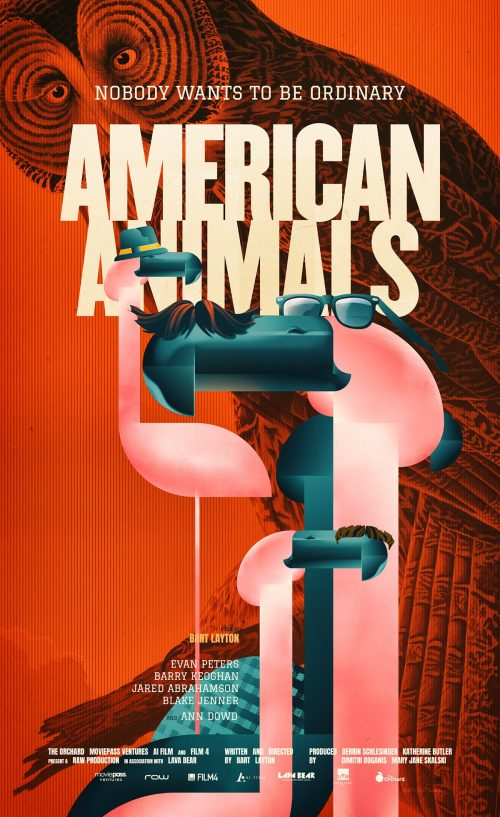 American Animals | Illustrated Key Art Movie Poster Design