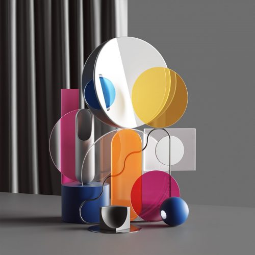 Peter Tarka   Abstract Compositions and Renders made with C4D, Octane and Photoshop 29