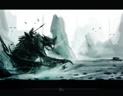 Arnesson Art – Behemoth Bat | Digital Matte Painting