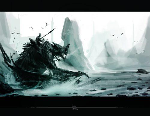 Arnesson Art – Behemoth Bat   Digital Matte Painting