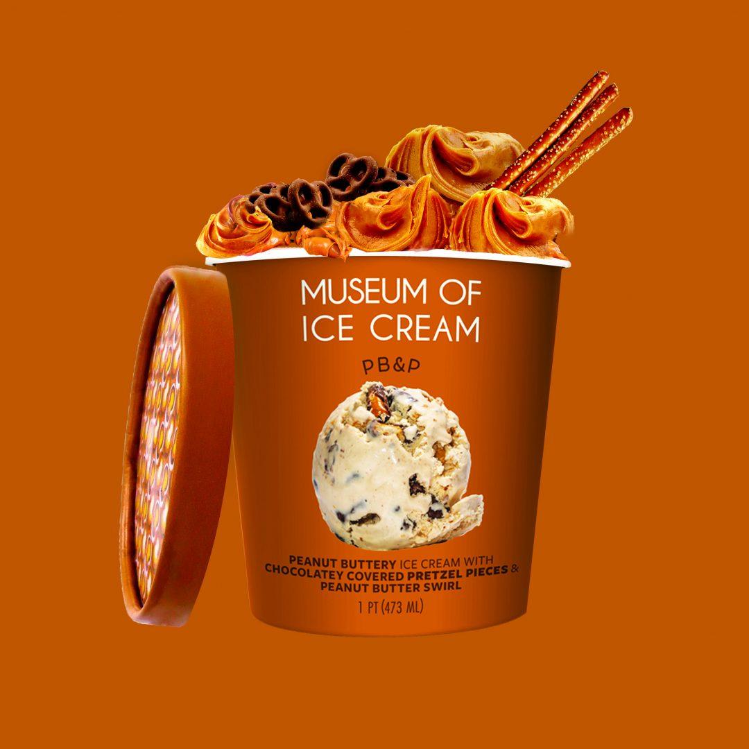 Museum of Ice Cream PB&P Packaging Design