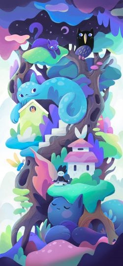 Alexander Zutto – Whimsical Illustrations made on Procreate 04