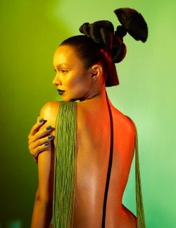 Lais Ribeiro for Numero Magazine Cover Russia – Photography with Gel Lights 05