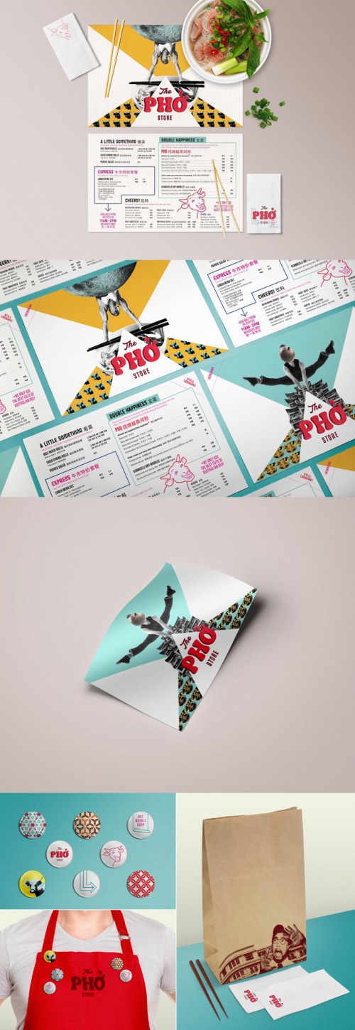 The Pho Store – Restaurant Menu Design