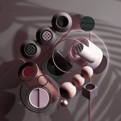 Peter Tarka   Abstract Compositions and Renders made with C4D, Octane and Photoshop 21