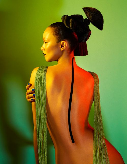 Lais Ribeiro for Numero Magazine Cover Russia – Photography with Gel Lights 14