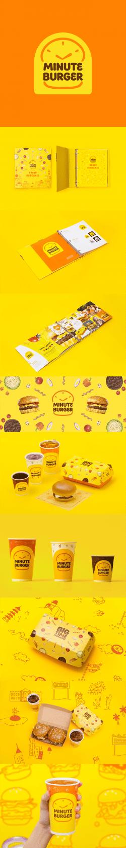 Minute Burger – Packaging Design Rebrand